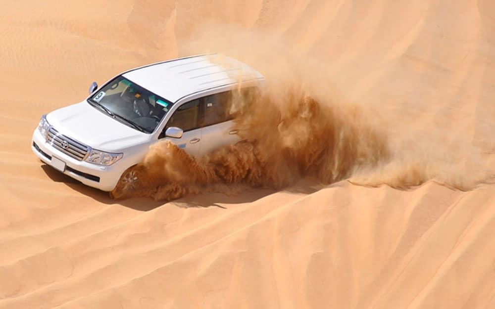 Dune bashing Desert Safari Saudi Arabia